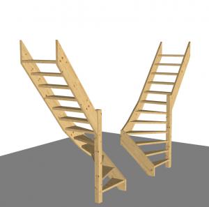 Bouwpakket trap