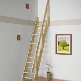 Ruimtebesparende trappen bouwpakket